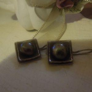 Silpada Sterling Silver Square Earrings